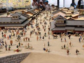 Модель улицы Эдо