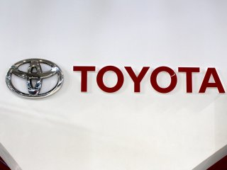 The Toyota name changed from the original Toyoda