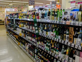 There are many local and imported wines on offer