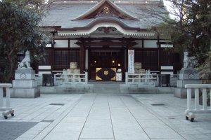 Torigoe Shrine in Taito City