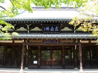 The main building at Gotokuji temple