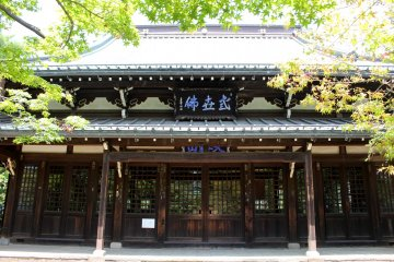 The main building at Gotokuji temple