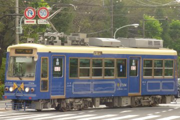 The ever charming Toden Arakawa Tram, a must ride when in the area