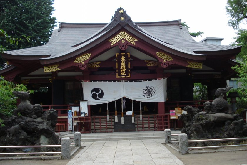 Susano Shrine, main shrine building