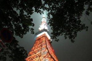 New illumination of Tokyo Tower
