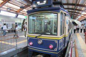 The Enoden retro-train