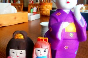 The original Hakata Dolls me and my cousins made
