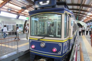 Ретро-поезд Энодэн
