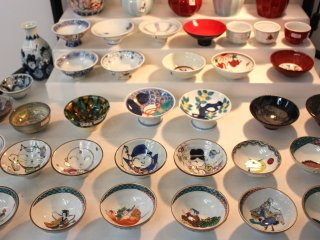 Small plates and bowls