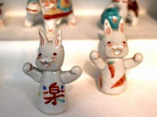 Funny figurines