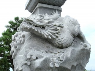 Фрагмент с драконом