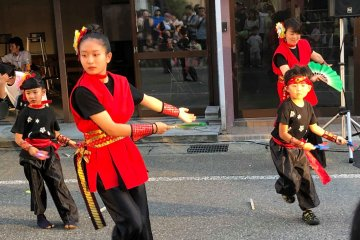 Dance performances by various groups