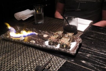 What meal is complete without fire?