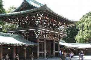 Храм Мэйдзи Дзингу