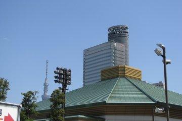 Арена сумо в Рёгоку
