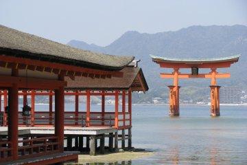 Храм Ицукусима на Миядзиме