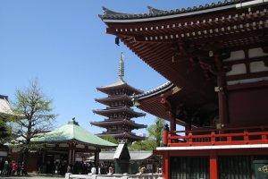 Senso-ji temple, Asakusa