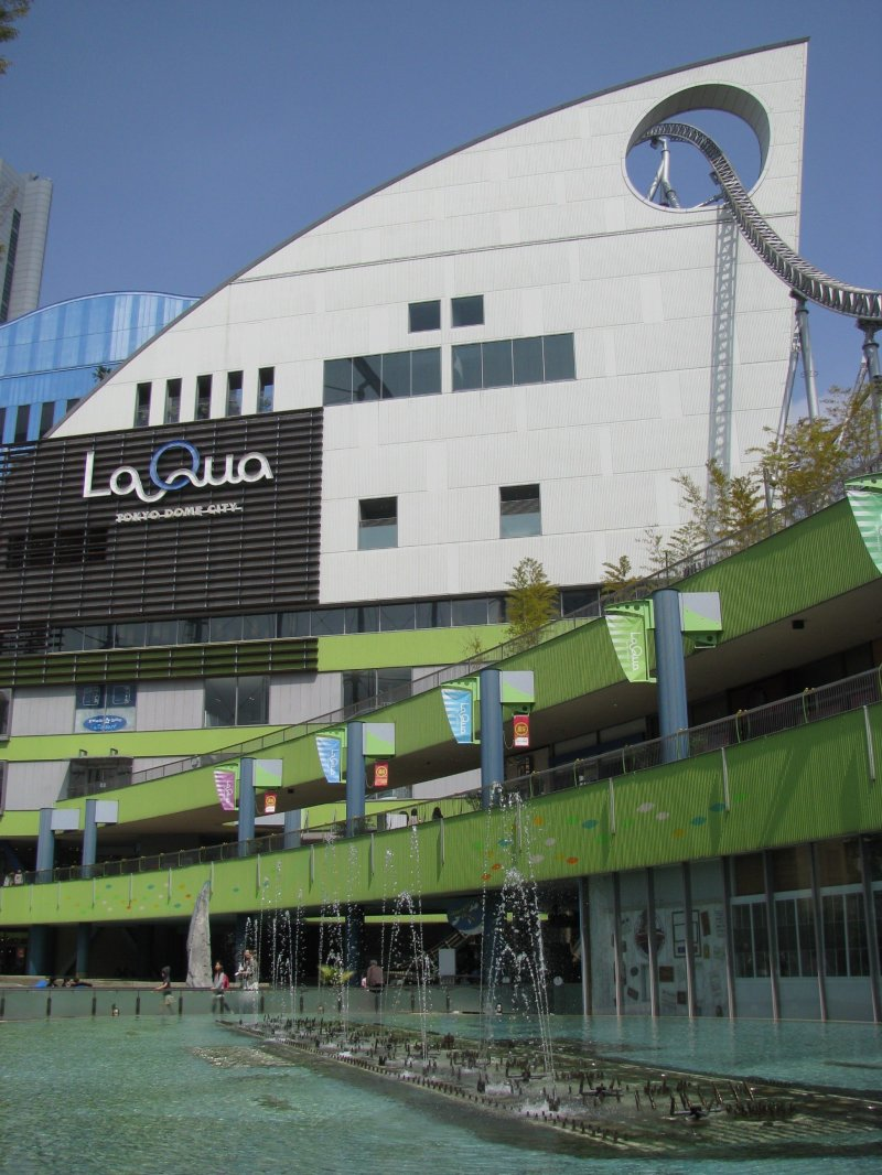 Spa LaQua is on the 6th floor