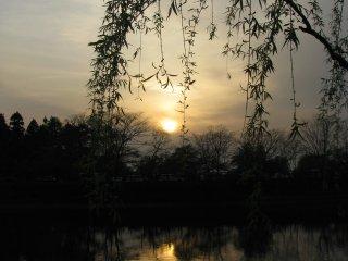 Beautiful landscape in Nara