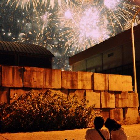 Lễ hội pháo hoa tại Hiroshima