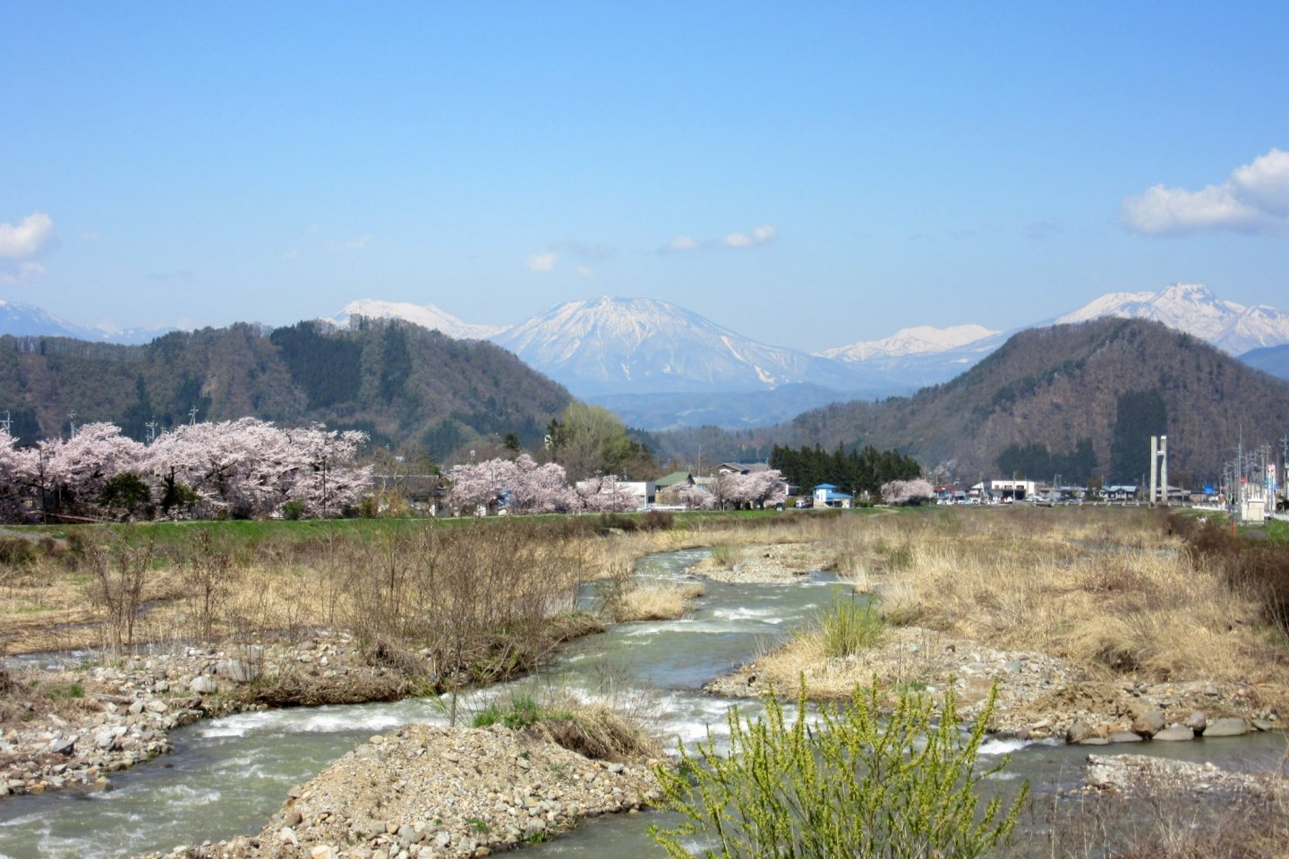 The view of Yudanaka