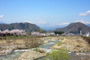 The view of Yudanaka