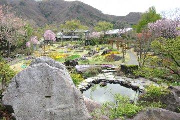 Floral Garden in Obuse