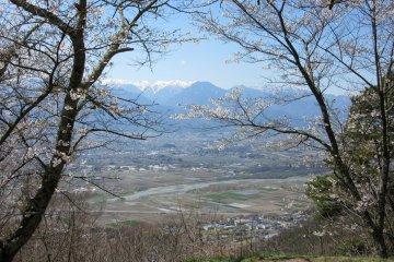 The view of Azumino