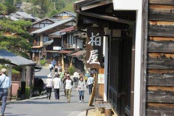 The post town, Tsumago