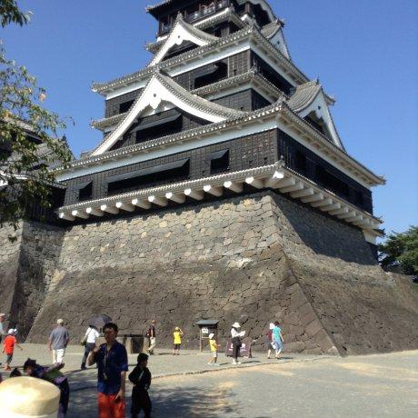 English Tours at Kumamoto Castle