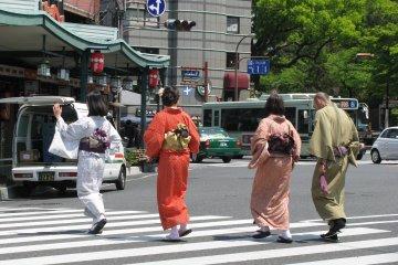 Кимоно и Киото