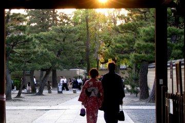 Тихий вечер в Киото