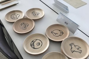 Some of the designs available to choose from in the carving class