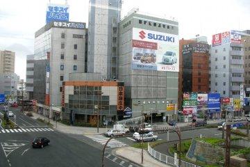 Центр города Хамамацу