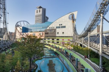 Just one part of what Tokyo Dome City offers