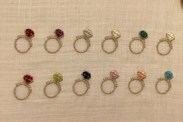 Birthstones can be embroidered.