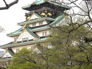 Osaka Castle is beautiful
