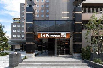 La Veranda restaurant on the ground floor