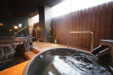 The outdoor public bath
