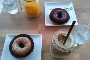 Doughnuts and drinks!