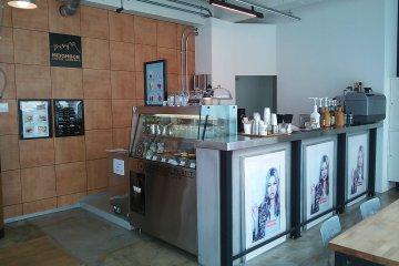 Neighbor Coffee Company's main coffee bar