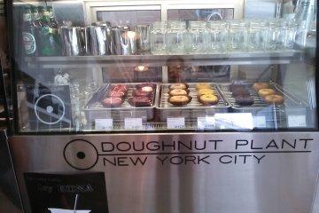 """Doughnut Factory: New York City"" doughnut display case"