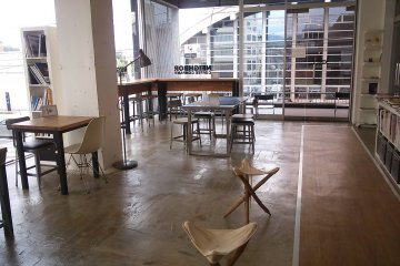 Interior view of Neighbor Coffee Company