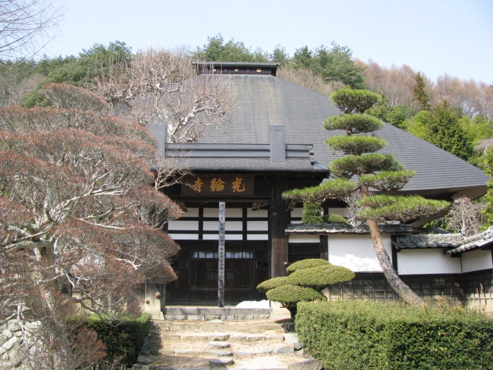 A temple in the Nagano countryside