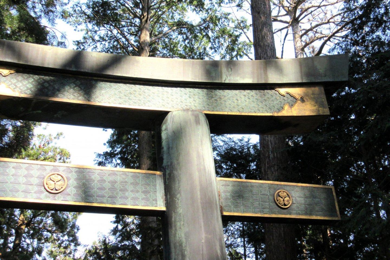 Sacred torii gate