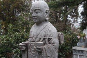 Zen statue at Bairin-ji in Kurume