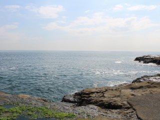 Sagami Bay in summer