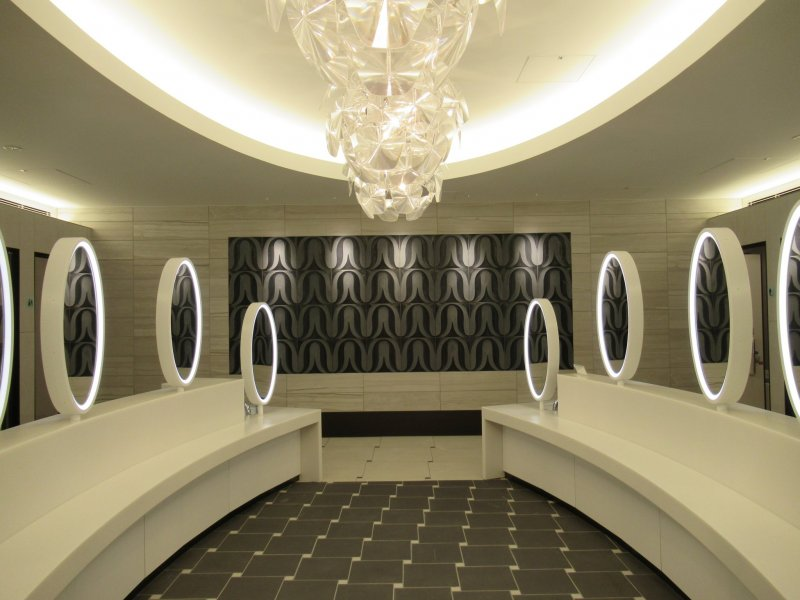 Туалет в аэропорту Нарита