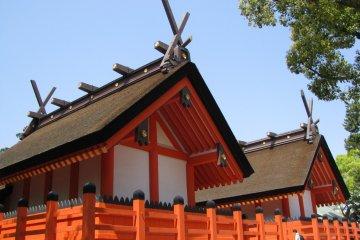 Храм Сумиёси Тайся в Осаке
