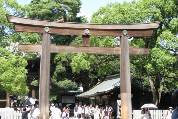 Храм Мэйдзи Дзингу в Токио